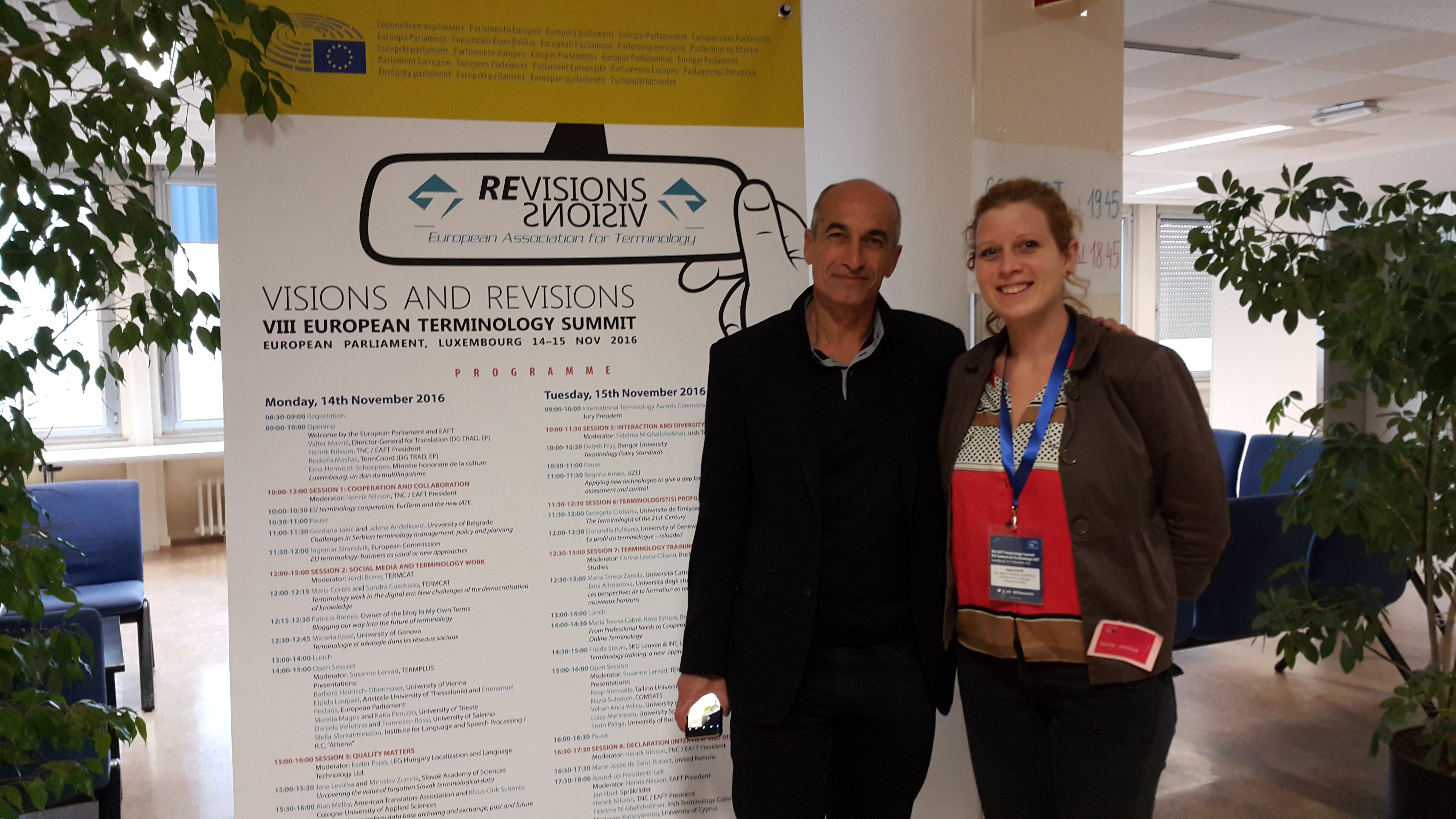 EFNIL at the European Terminology Summit 2016